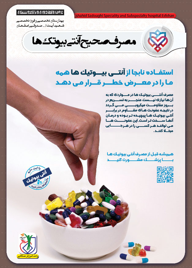 مصرف نا صحیح انتی بیوتیک
