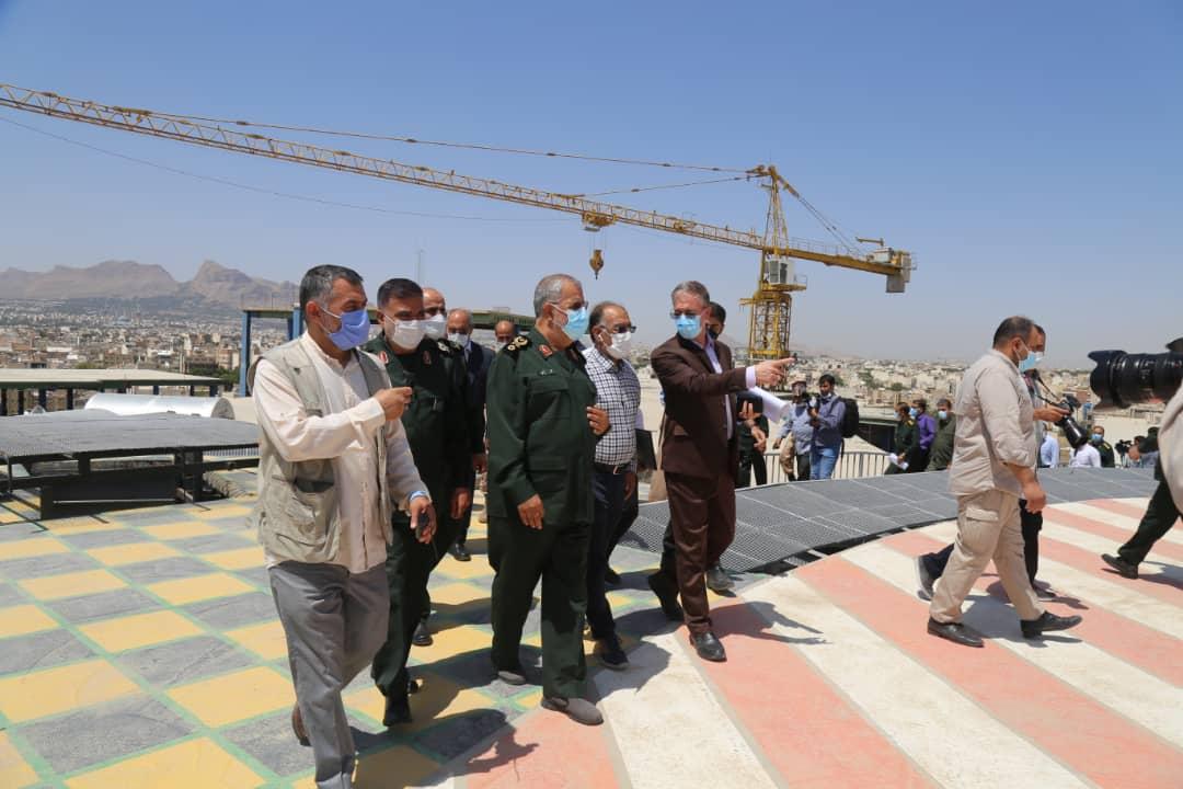 افتتاح پارکینک بیمارستان صدوقی