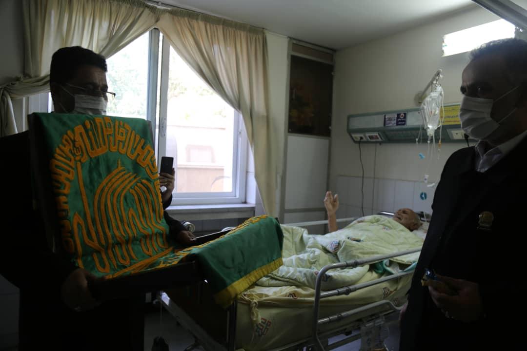 حضور خادمین امام رضا در بیمارستان شهید صدوقی اصفهان