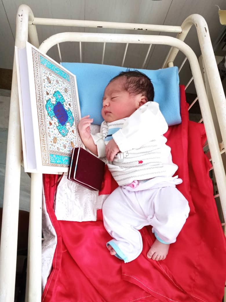 بیمارستان شهید صدوقی روز عید غدیر نوزادان متولد شده در بیمارستان صدوقی