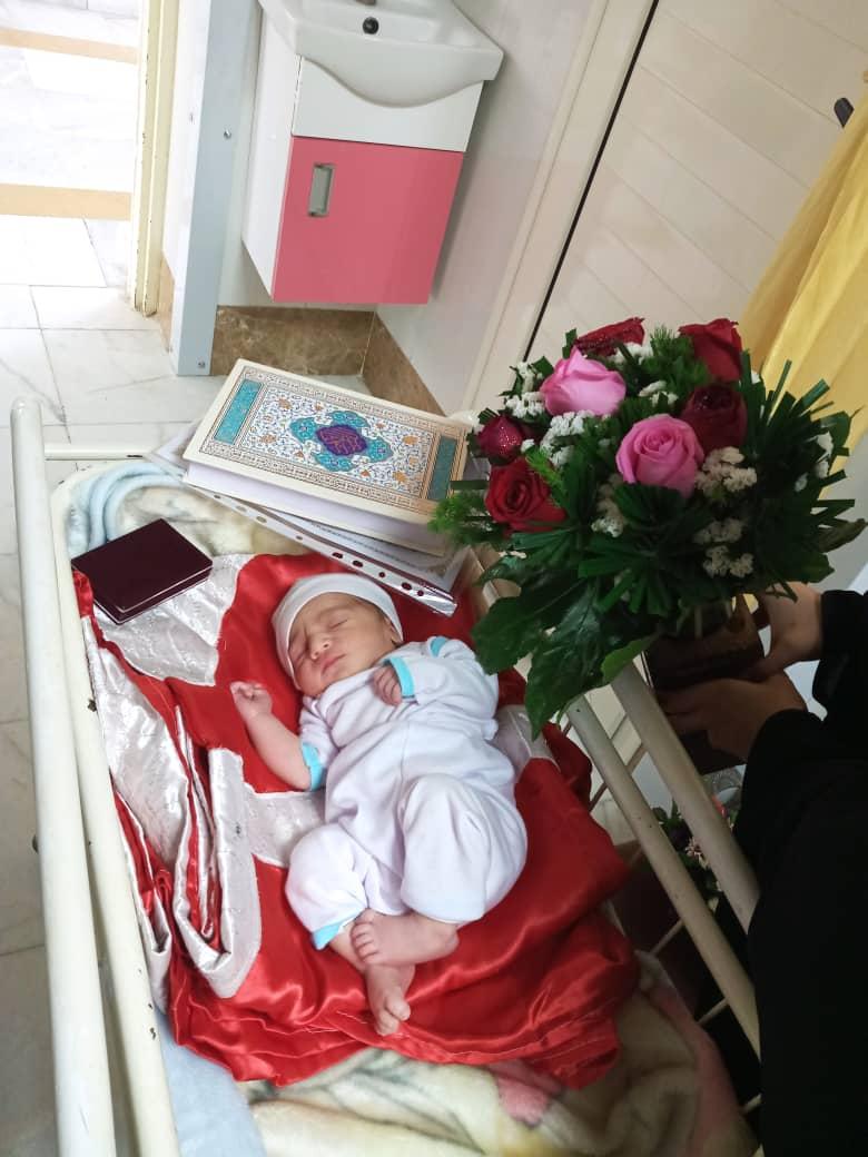 بیمارستان صدوقی روز عید غدیر نوزادان متولد شده در بیمارستان صدوقی